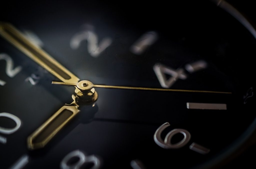 Close up image of a watch. Bleum has worked with many high frequency trading clients where time is critical!