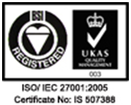 ISO27001 Information Security Management award